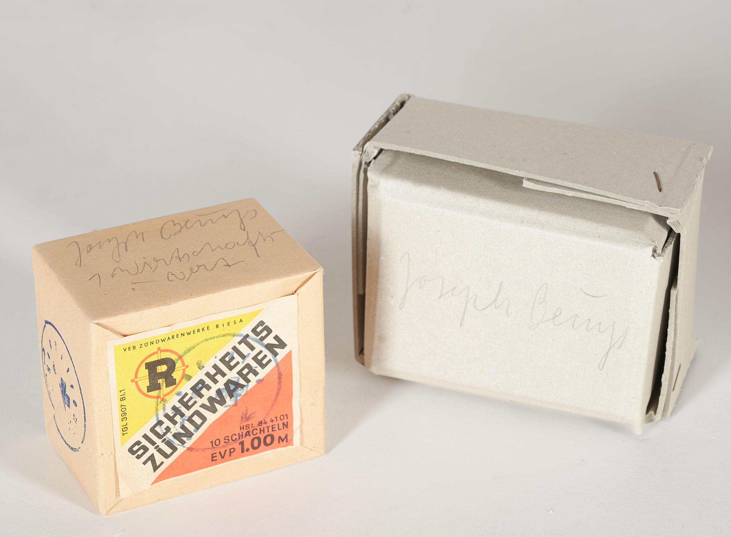 Joseph Beuys: 1 Wirtschaftswert - lucifers