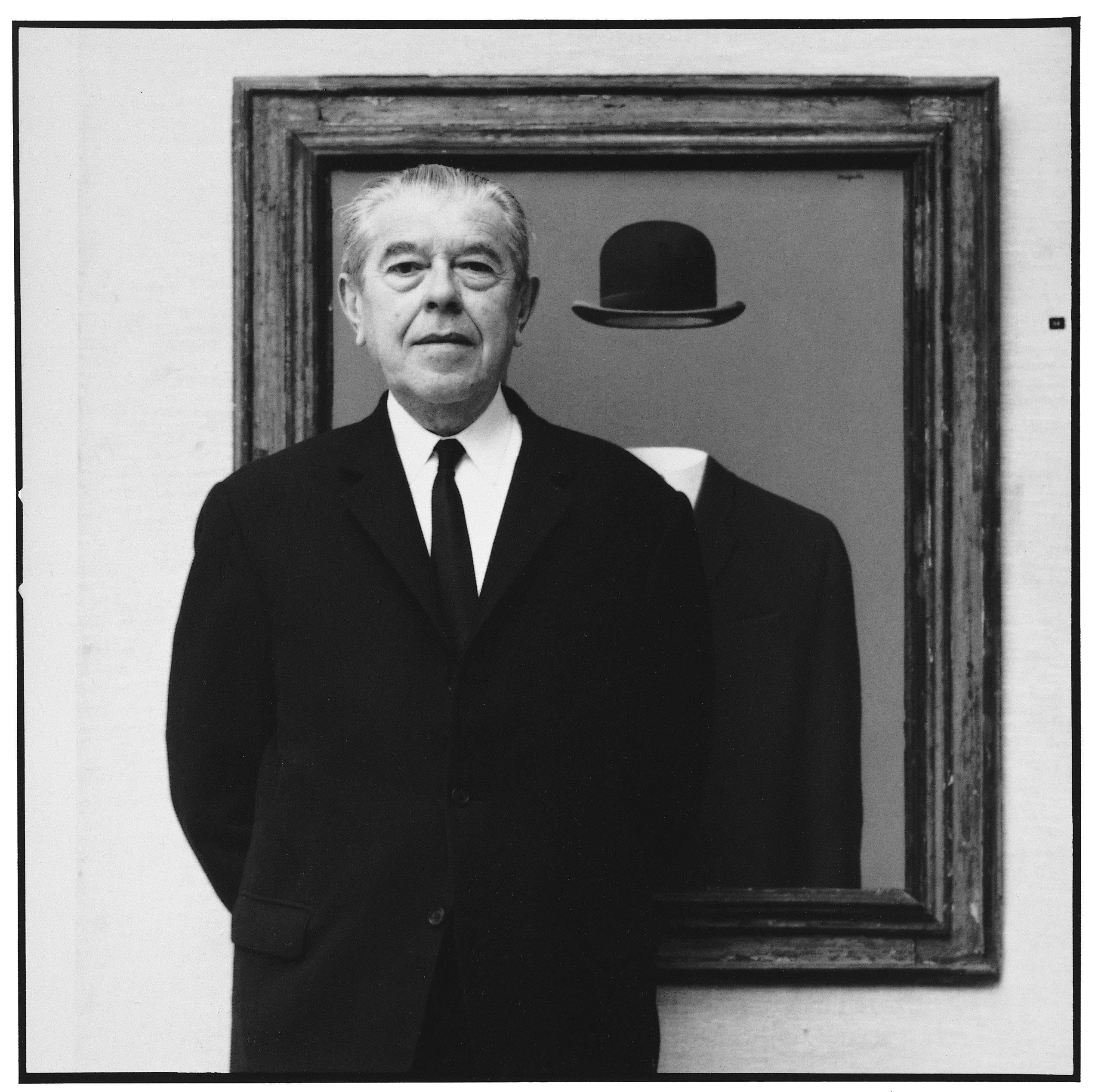 Rene Magritte by Lothar Wolleh