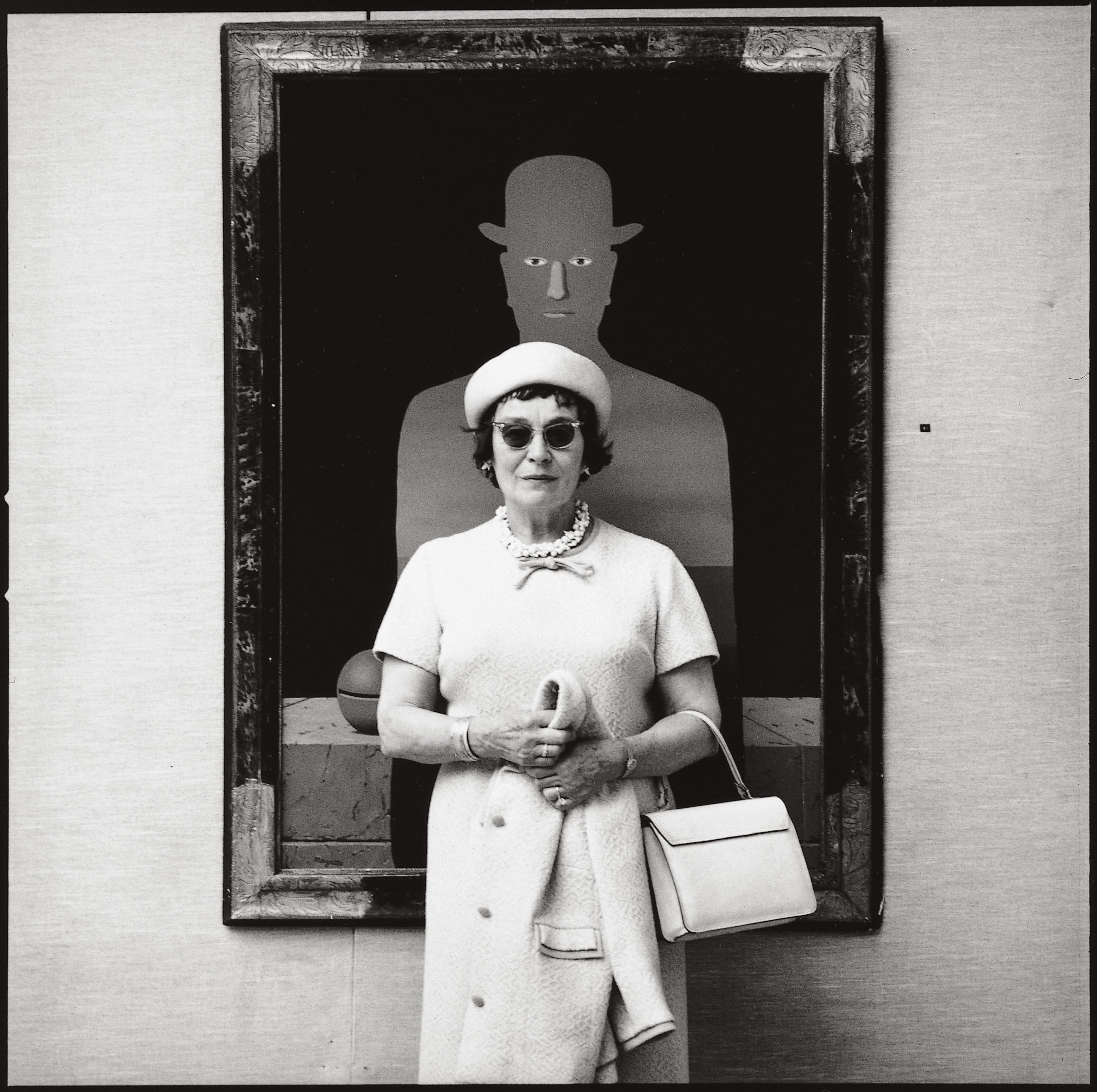 Georgette Magritte by Lothar Wolleh