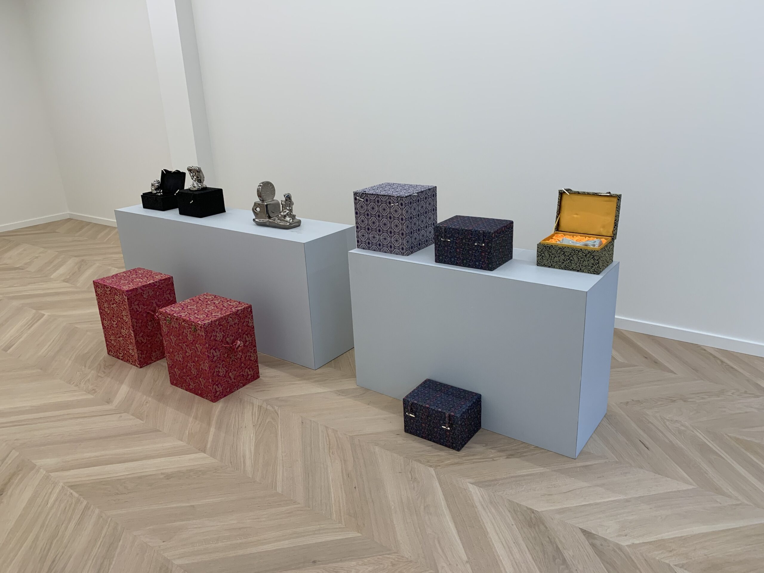 Boxes at Coppejans Gallery