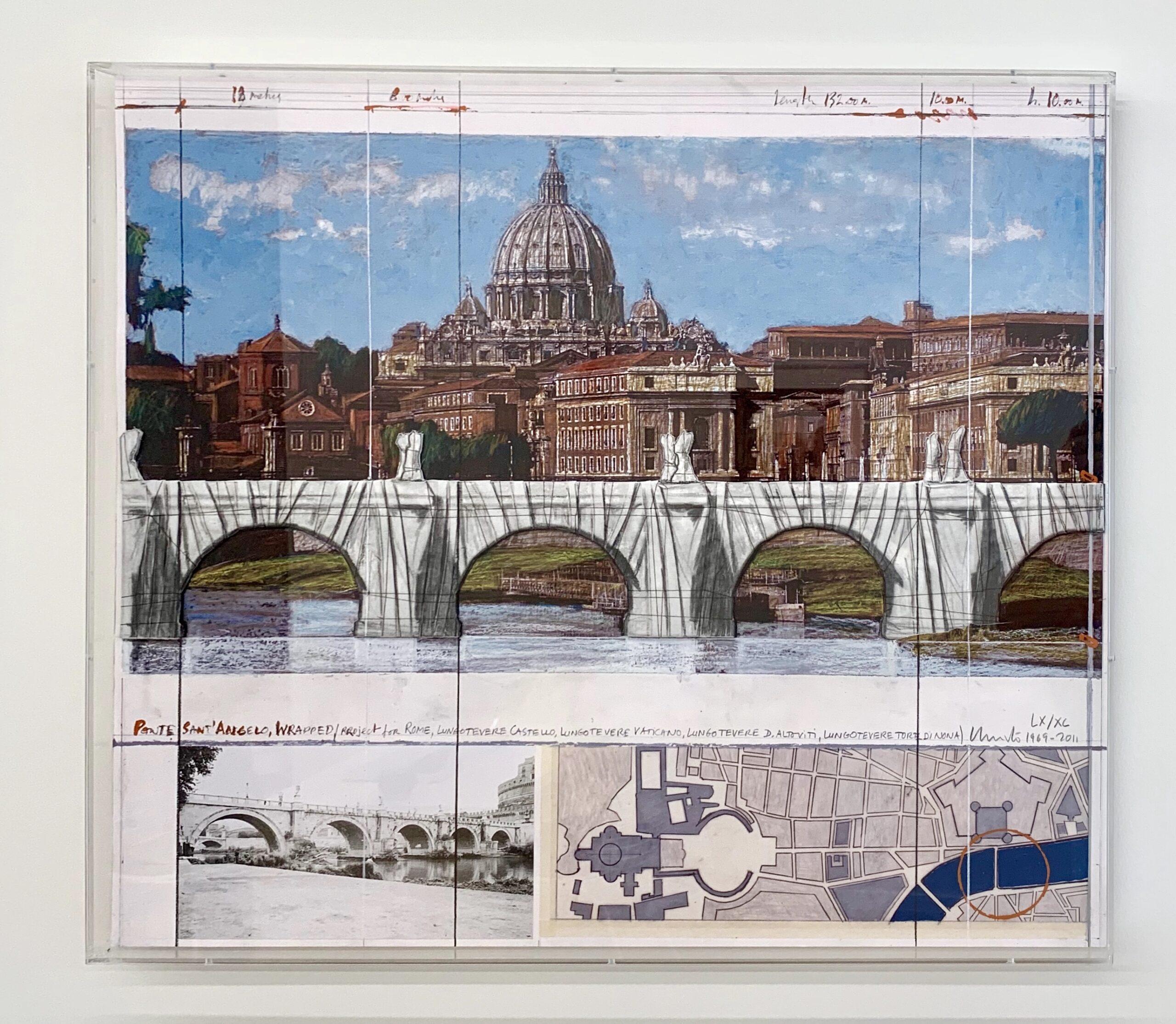 Ponte Sant Agnelo Wrapped