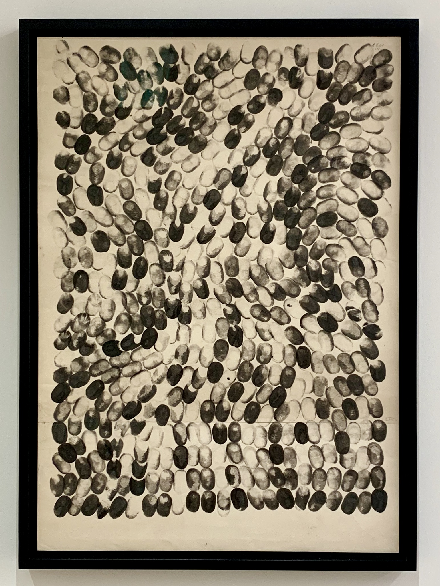 Ewerdt Hilgemann - Untitled, ink on paper, 1960