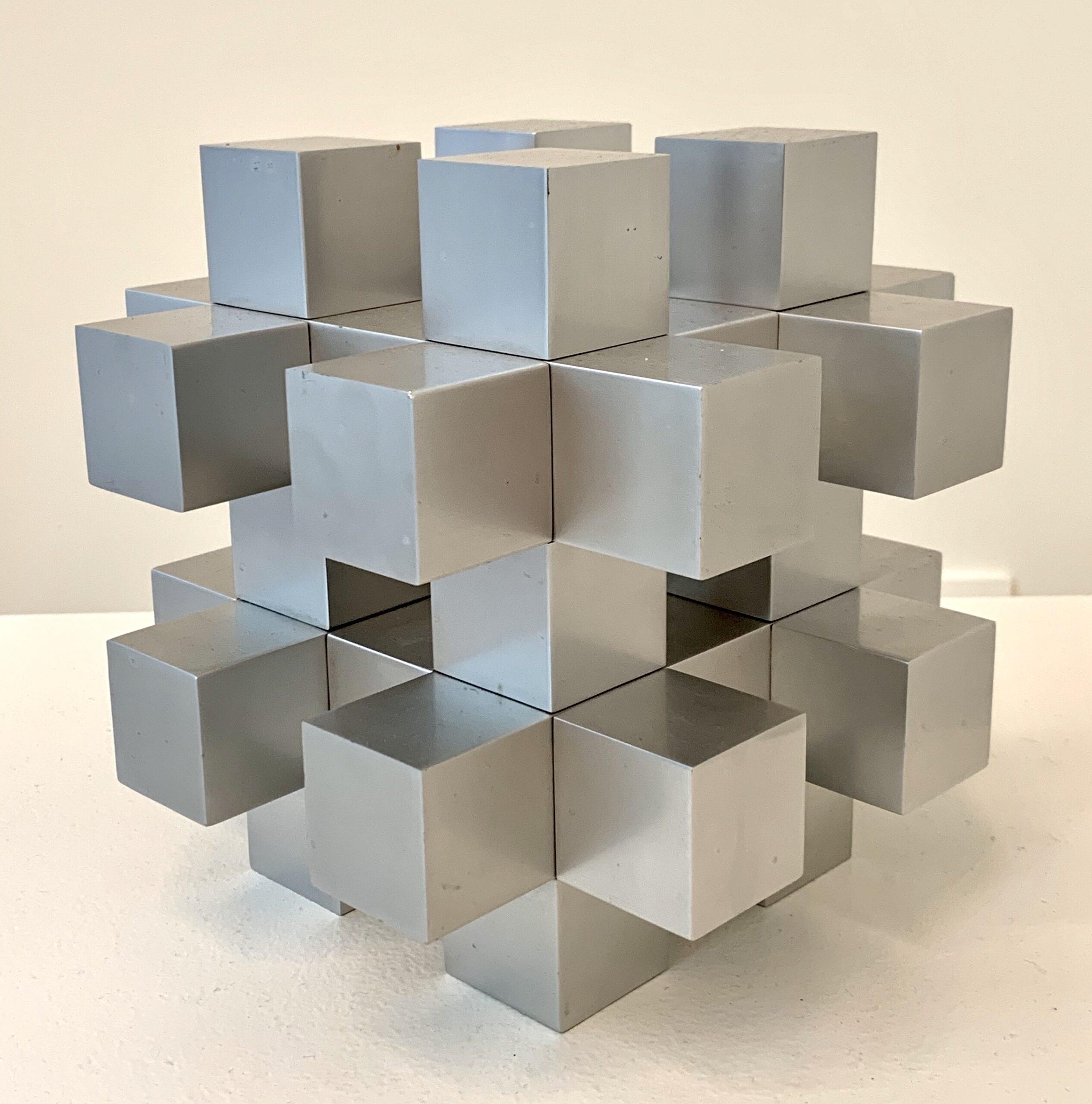 Ewerdt Hilgemann - Cube Structure, 1973