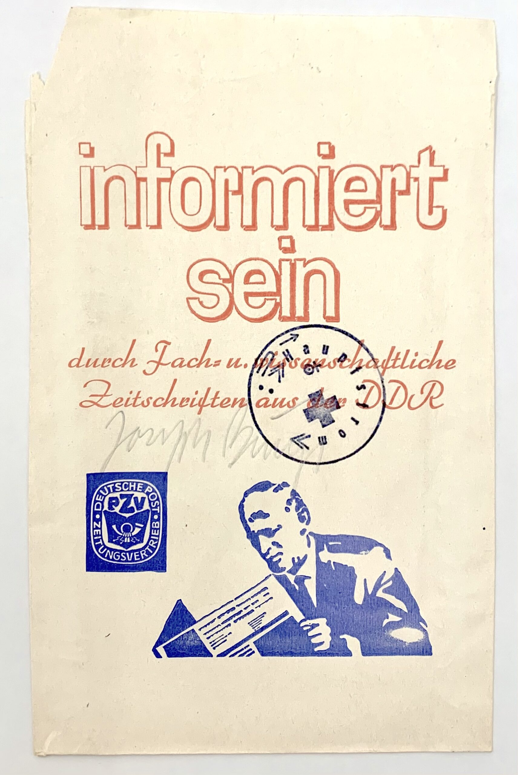 Informiert sein, Joseph Beuys