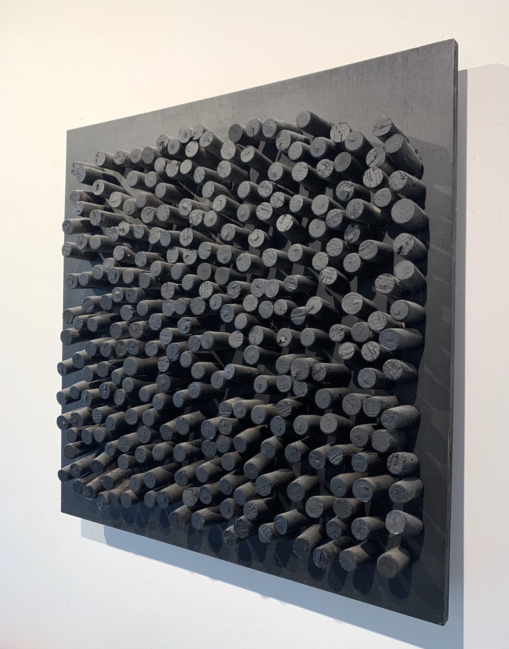 Jan Henderikse, Untitled, 2013 - corks on panel