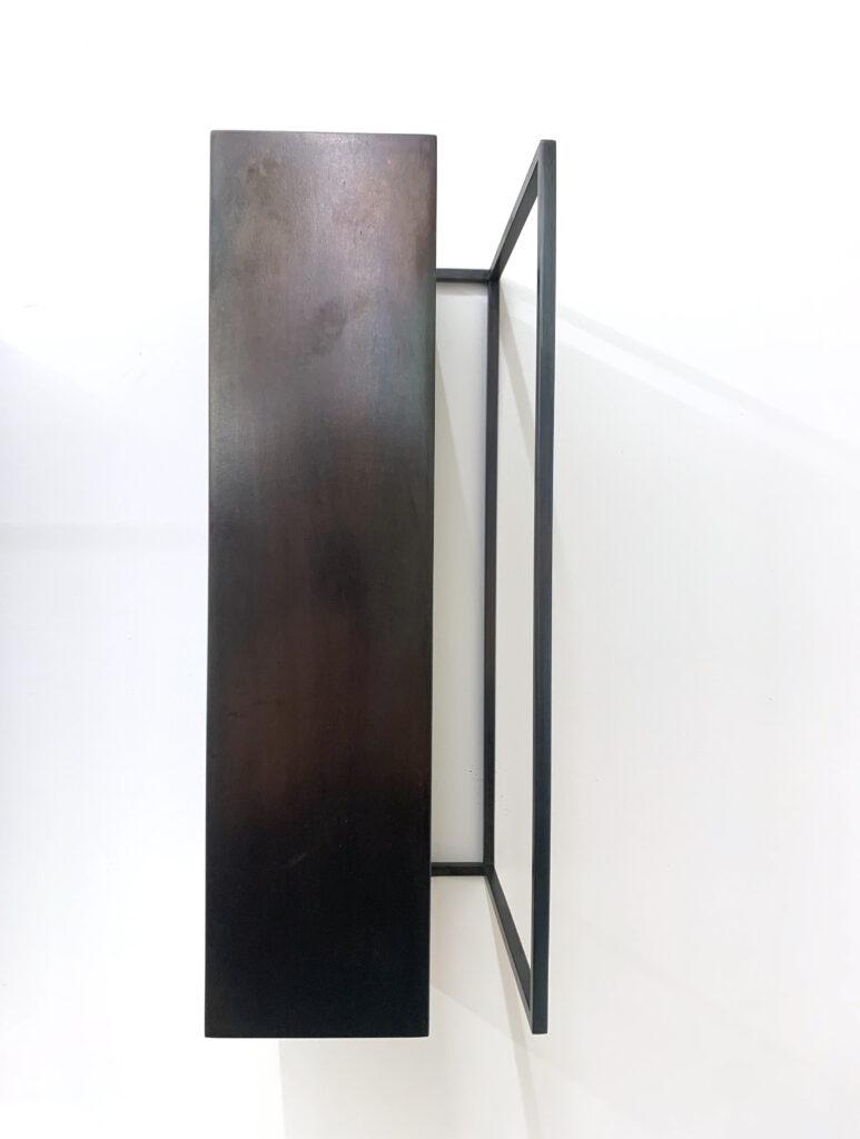 Riki Mijling, R.S.-V, steel sculpture