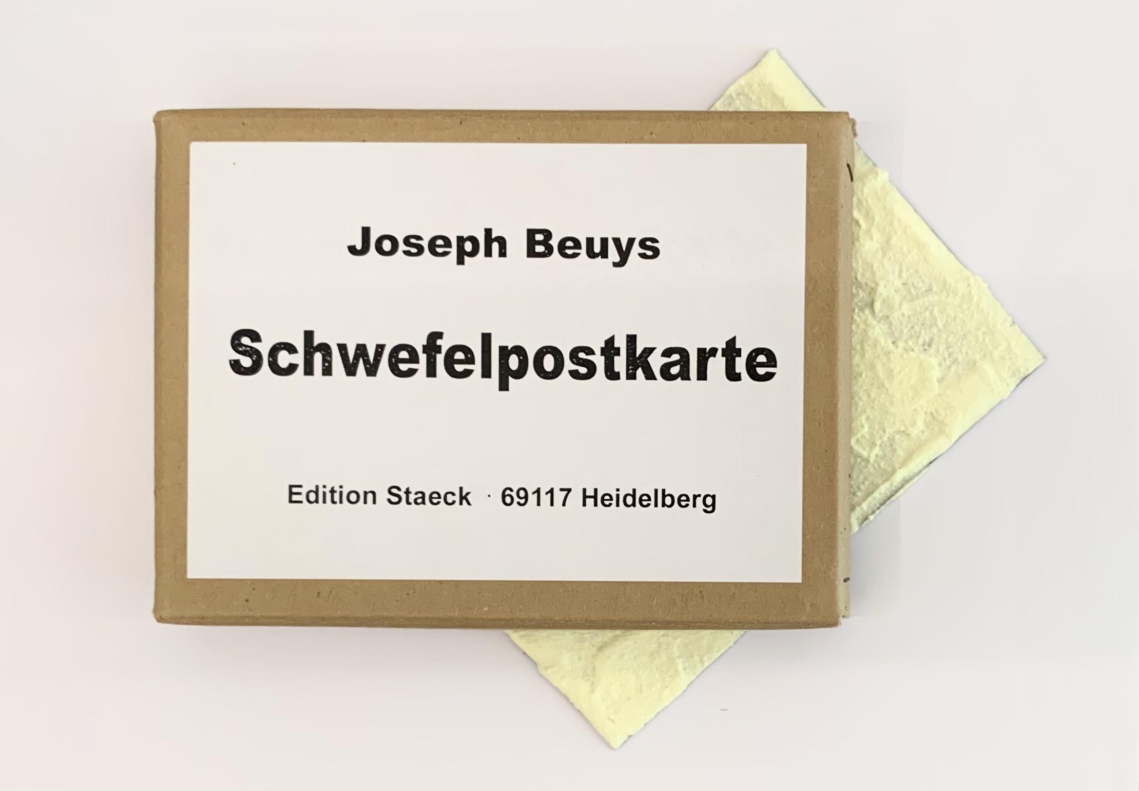 Joseph Beuys - Schwefelpostkarte