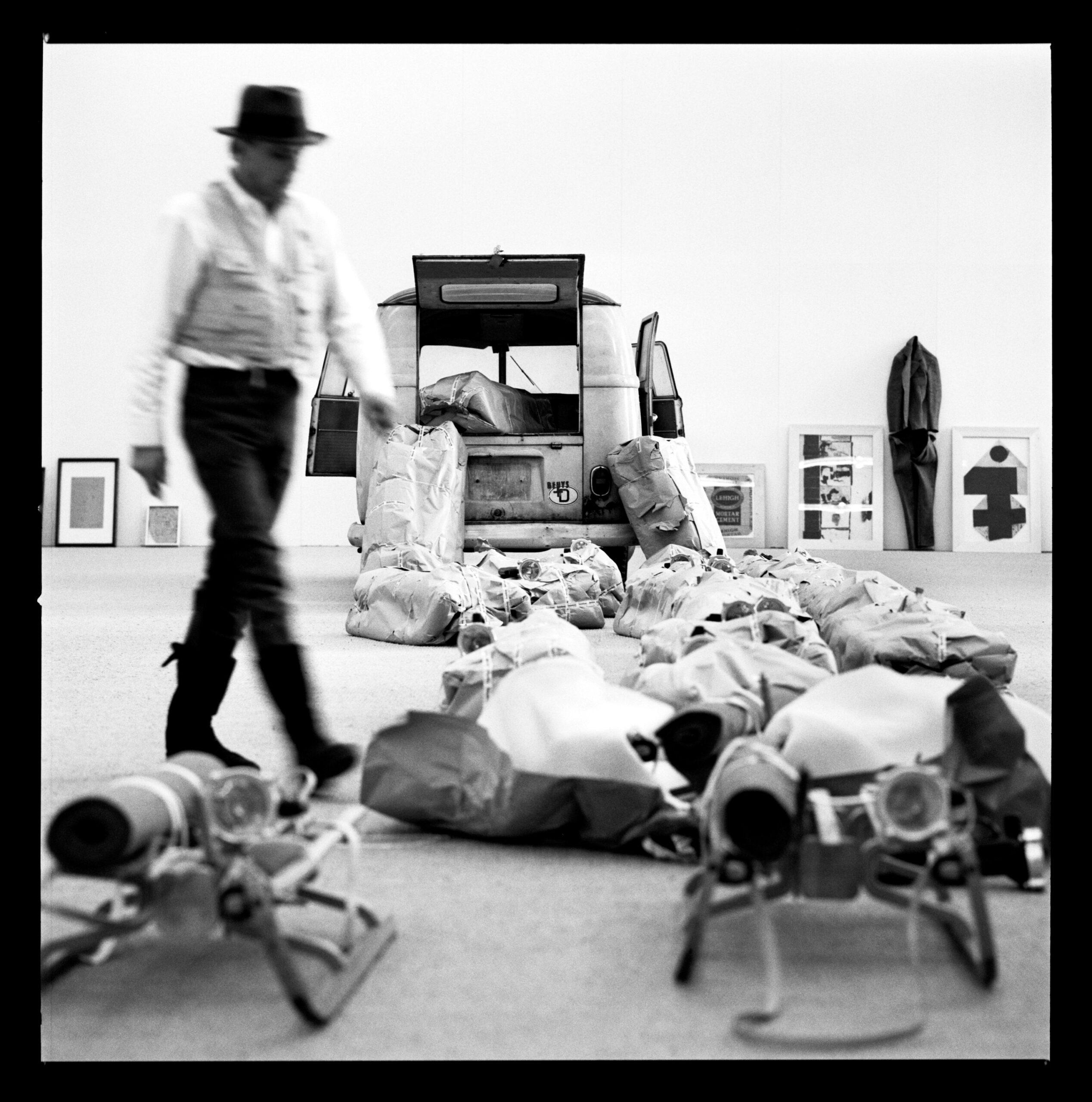 Beuys in Moderna Museet, Stockholm 1971, Lothar Wolleh