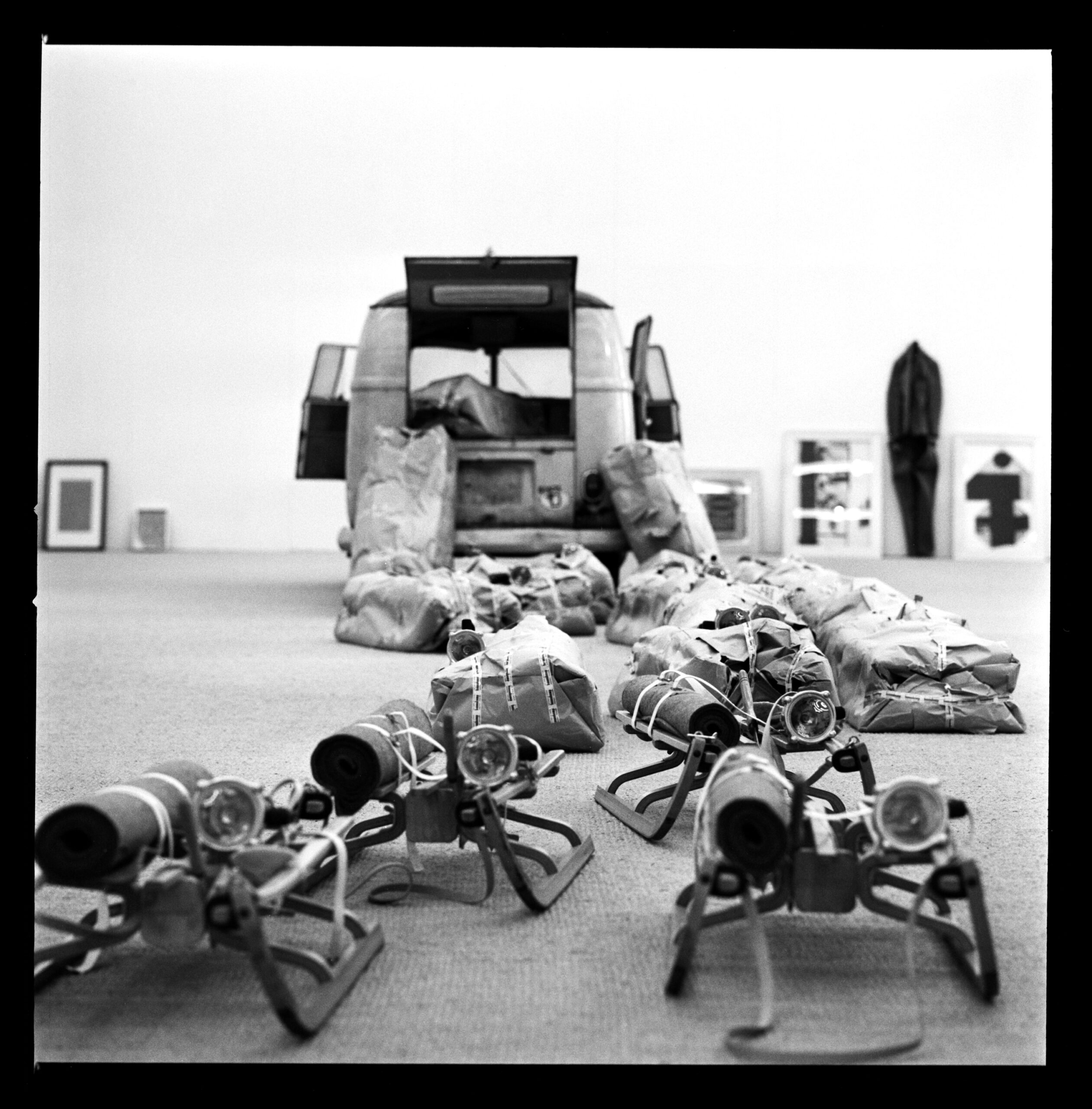 Beuys in Moderna Museet Stockholm - Lothar Wolleh