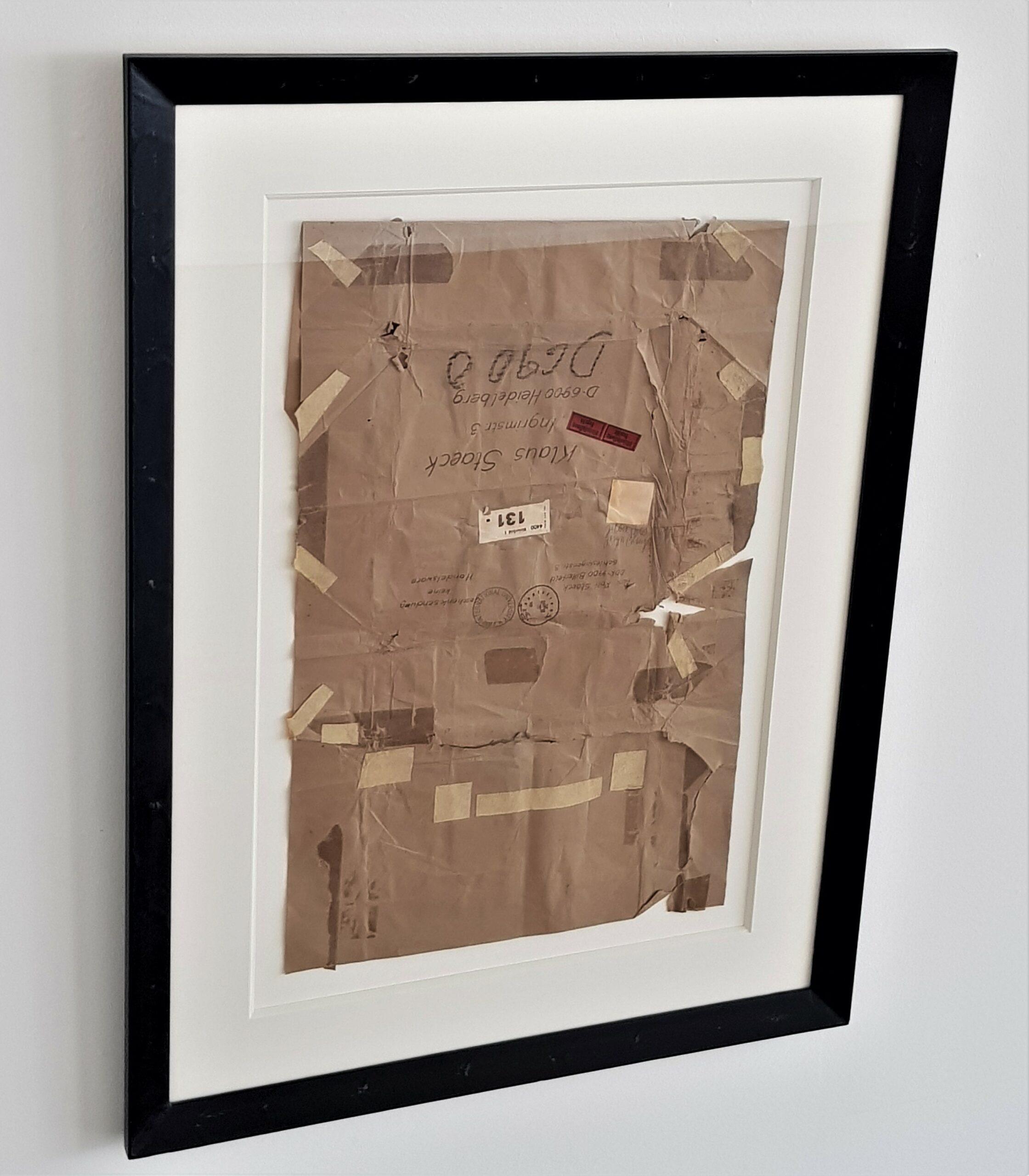 Joseph Beuys Gelbes Bild IIXL 1977 gemengde techniek op papier 76x49cm