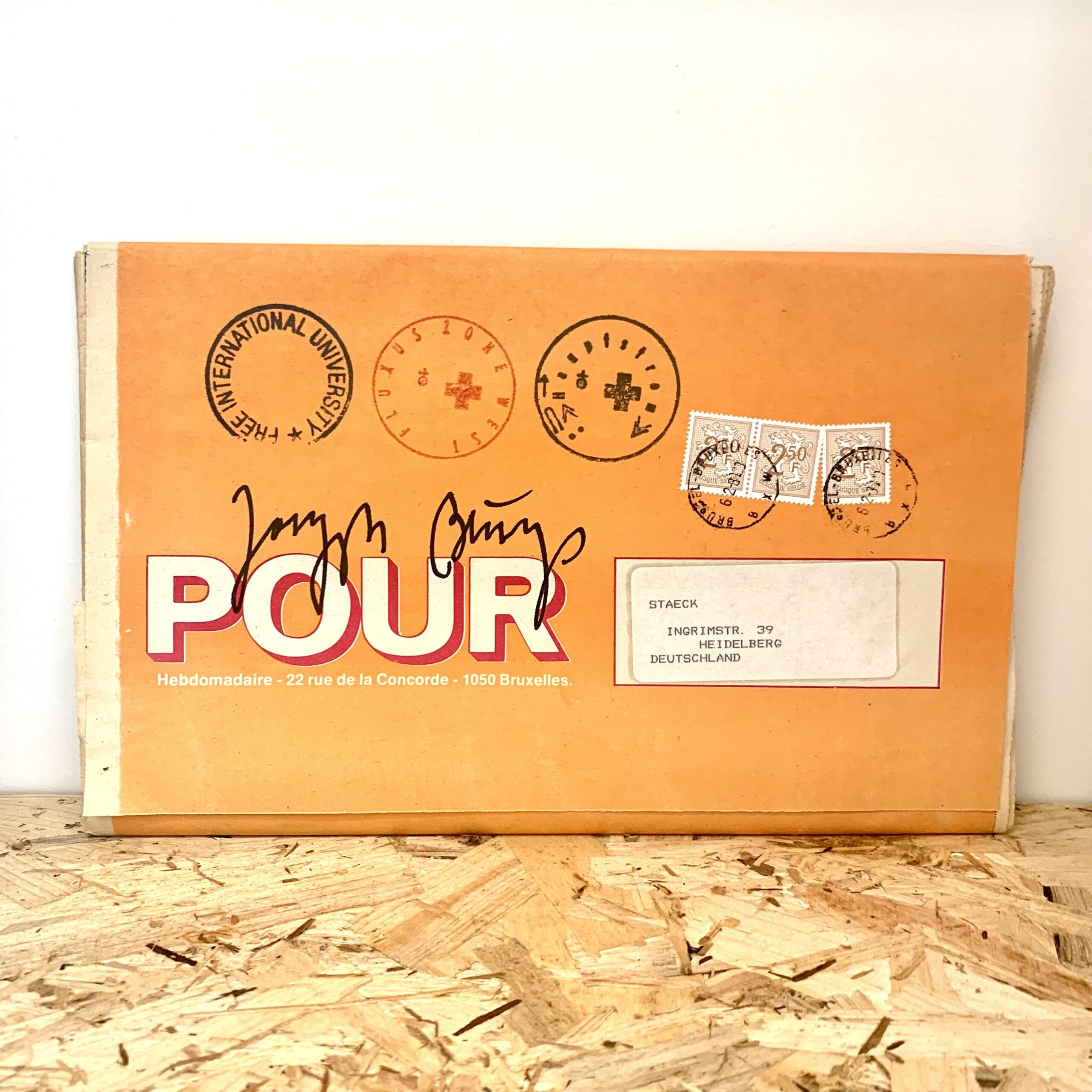 Joseph Beuys - POUR magazine Coppejans Gallery