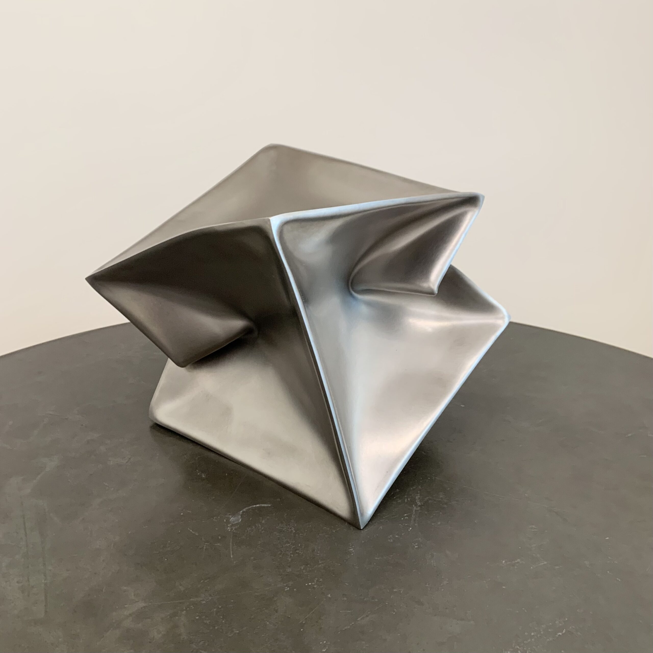 Ewerdt Hilgemann - Imploded Cube, 2002