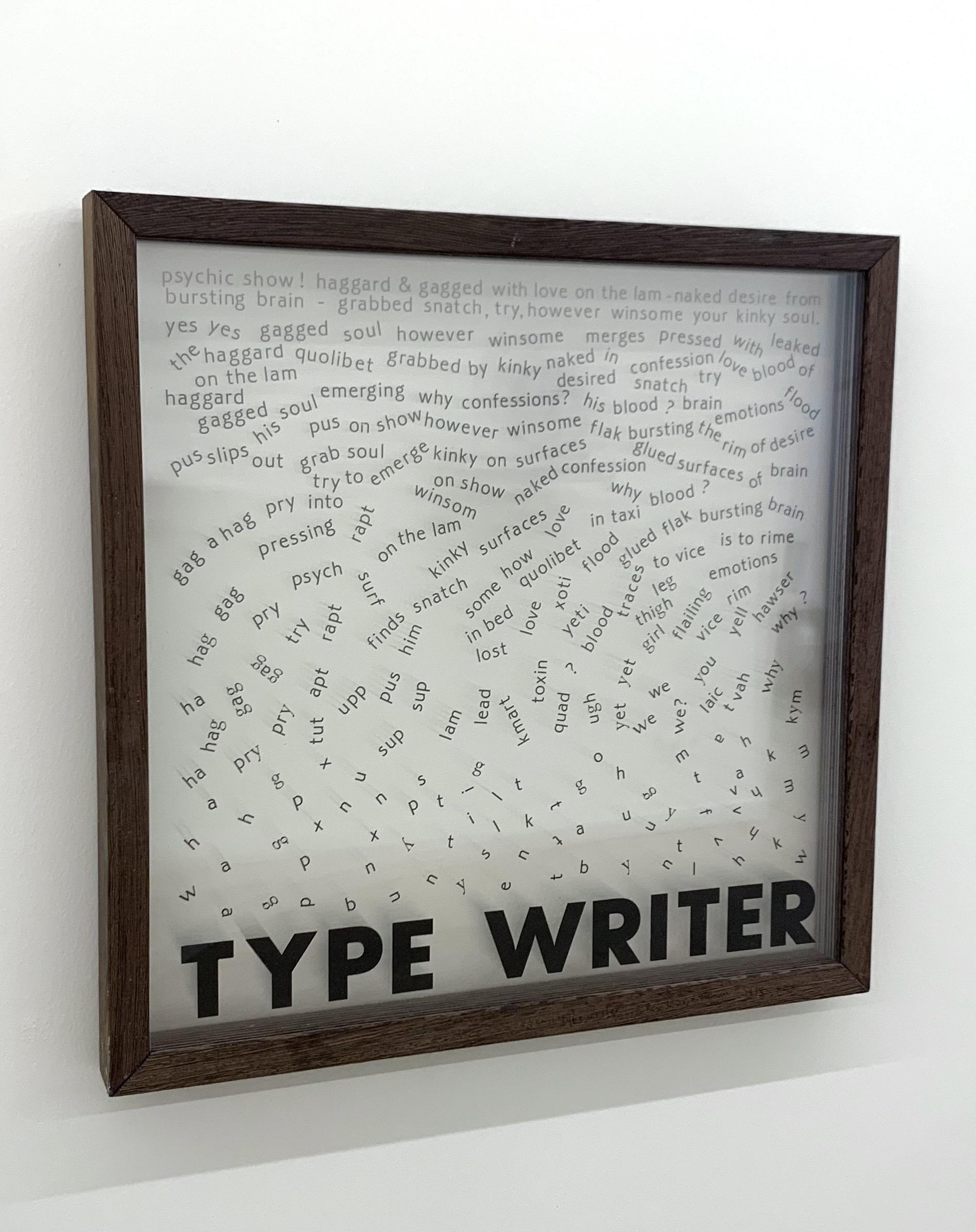 Alain Arias-Misson, Type Writer 1975